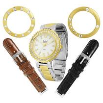 Relógio Dumont Vip Sk75002/r.