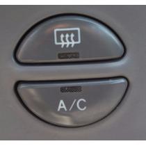 Botão Ar Cond Desembaçador Relógio Painel Corolla Xei 98/02