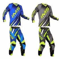 Conjunto Kit Calça + Camisa Ims Action Fluor 2016 Motocross