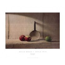 Poster (91 X 71 Cm) Apple Trio David Brega