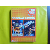 Dvd Edson & Hudson Duplo / Frete Gratis / Novo