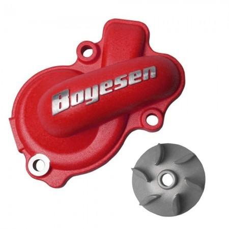 Kit De Bomba D ´ água Boyesen Crf 450 09 / 16 - Vermelha