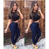 Calça Jeans Hot Pants Juju Panicat Roupas Femininas