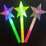 Bastão De Led Varinha Estrela Para Festas
