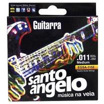 Encordoamento Para Guitarra Santo Angelo 0.011-.052 Médio