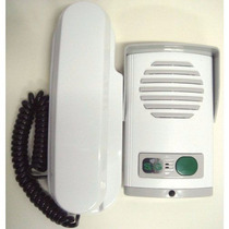 Kit Porteiro Eletrônico Branco Agl + Interfone = Agl Hdl Jfl