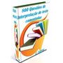 Ebook 800 Questões De Interpretação De Texto Comentadas