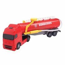 Caminhão De Bombeiro Voyager Solta Água De Verdade! Roma Jen