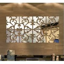 Espelho Decorativo Acrílico 1,2x0,60m Sala Quarto Grande