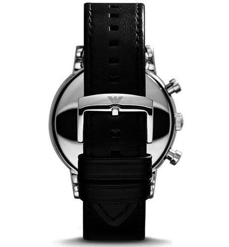 29c7ed3e1c9 Carregando zoom  b1e43f8c4ab Relógio Emporio Armani Ar1828 Original + Caixa  + 3 Anos De G. Preço R ...