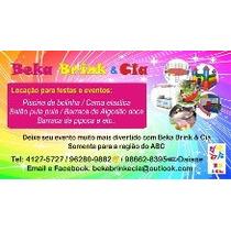 Locação De Brinquedos Região Abc Ótimos Preços!!!!