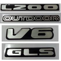 Kit Adesivo L200 Outdoor V6 Gls Resinado