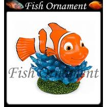 Enfeite Penn Plax Nemo Coral Azul Grande Fish Ornament