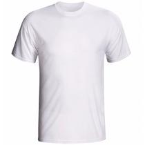 Camiseta Gola Redonda Branca Gg