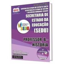 Apostila Sedu Es - Professor B - História
