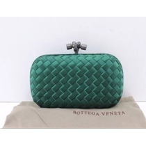 Bolsa Bottega Veneta Clutch Verde - Pronta Entrega