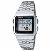 Relógio Casio A500 Prata Original