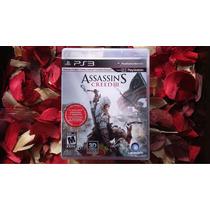 Assassins Creed 3 - Legenda Em Português Mídia Física - Ps3