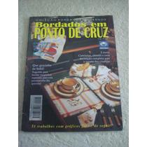 Revista Bordados Em Ponto Cruz Camisolas Chinelos Bebê N°23