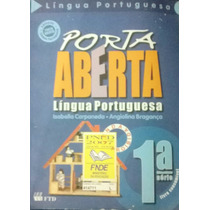 Livro Porta Aberta Língua Portuguesa 1º Série