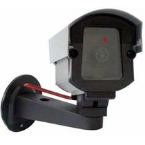 Kit 03 Câmera Segurança Falsa Bivolt + Placa Sorria (grátis)