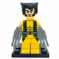 Bloco De Montar Lego Wolverine Logan X Men Marvel