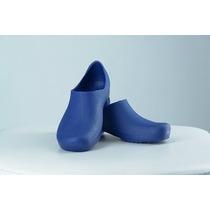 Sapato Hospitalar Isocalce Azul