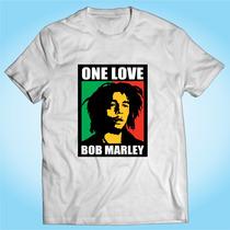 Camisa Bob Marley One Love - Reggae - Música - Banda