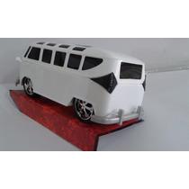 Volkswagen Kombi,coleção,miniatura,decoração Em Plastico
