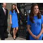 Vestido Igual Da Kate Middleton Azul