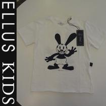 Camiseta Ellus Kids Manga Curta - Branca Osvald