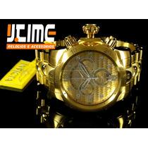 Jtime Invicta 17633 -venom Lançamento Semana E Datador Duplo