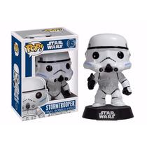Stormtrooper Star Wars Boneco Funko Pop! Vinyl Bobble Head