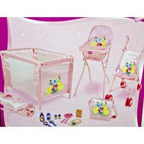 Berço Para Bonecas Princesas Disney