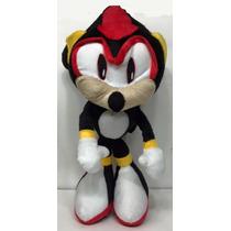 Sonic Hedgehog Shadow Sonic Pelúcia Grande 50 Cm
