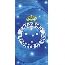 Toalha De Time Futebol Oficial Aveludada Dohler Cruzeiro