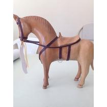 Cavalo Pra Decoração Em Madeira Maciça + Frete Grátis