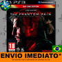 Metal Gear Solid V 5 The Phantom Pain Ps3 Psn Envio Agora
