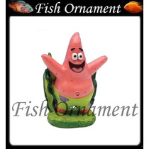 Enfeite Penn Plax Patrick Mini Bob Esponja Fish Ornament