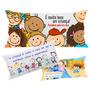 60 Almofadas Travesseiro Lembrancinha 40x20 Dia Das Crianças