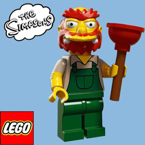 71009 Lego Simpsons Minifiguras S2 - Zelador Willie