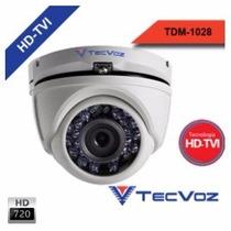 T1-5tvi/e Câmera Dome Hd-tvi Tecvoz 1.0mega Atual Tdm1028
