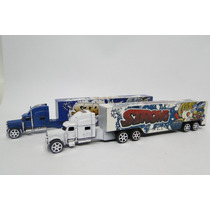 Miniatura Caminhão Carreta - Kit Com 2 Carretas