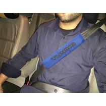 Capas De Cinto De Segurança Azul Par