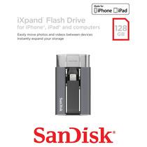 Pen Drive Sandisk Ixpand 128 Gb Apple Iphone 6 Ipad Ipod Mac