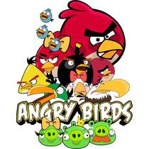 Vetores E Imagens Angry Birds Corel, Silk Envio Imediato.