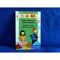 Livro Usado Uma Menina Um Menino Flavio De Souza Da Scipione