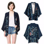 Kimono Cardigan Boho Estampado Feminino Phoenix Fenix