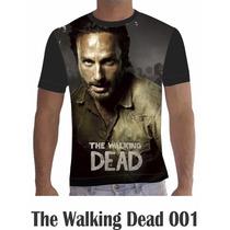 Camisa Camiseta Personalizada Séries The Walking Dead
