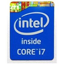 Adesivo Original Intel Core I7 4º Geração (quarta Geração)